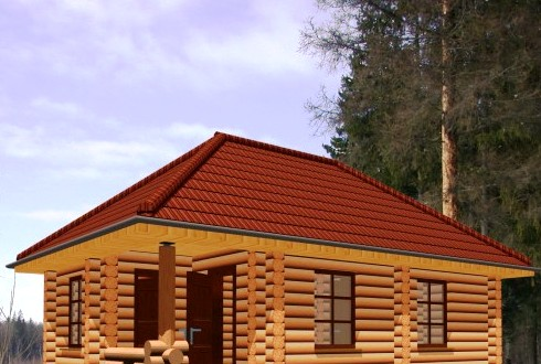 А за рубежом популярны односкатные крыши.  Оно и понятно: у нас зимой на крыше снежные сугробы образуются высотой...