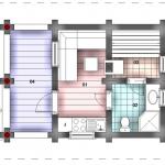 план бани с кухней