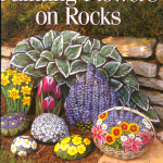рисуем цветы на камнях