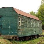вагон-баня в депо Новомосковск