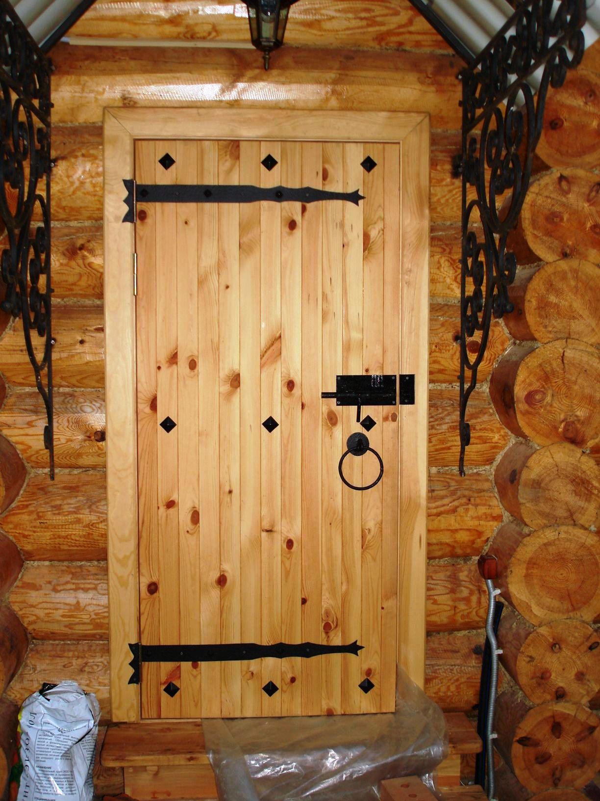 Как сделать дверь в баню своими руками особенности 57