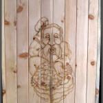 двери для бани-мужик