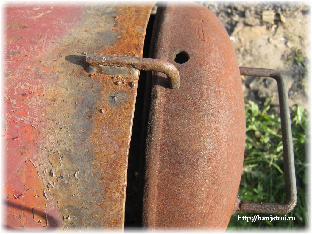 Мангал своими руками из газового баллона фото