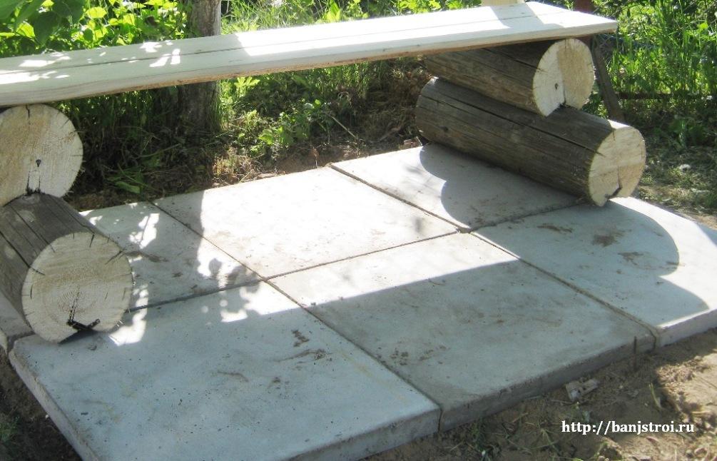 бетонные плиты для дорожек