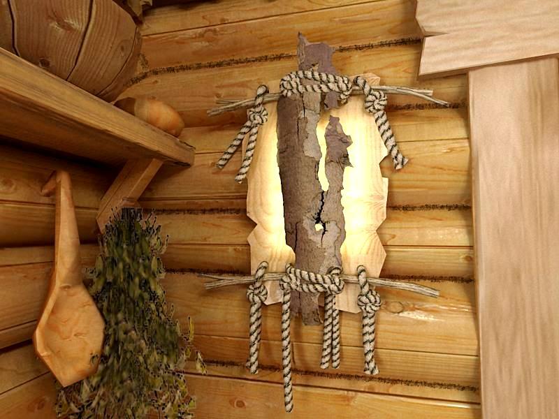 Как украсить баню своими руками фото 75