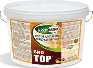 средство для обработки торцов бревен био тор